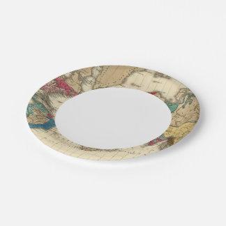 Empire of Napoleon Bonaparte 1811 AD 7 Inch Paper Plate