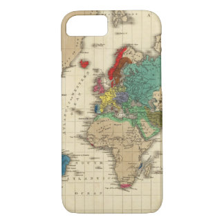 Empire of Napoleon Bonaparte 1811 AD iPhone 8/7 Case