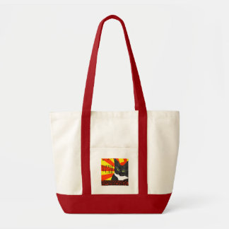 Empire Of The Cat Impulse Tote Bag