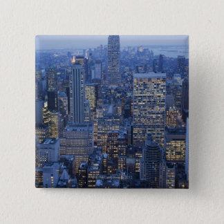 Empire State Building 15 Cm Square Badge