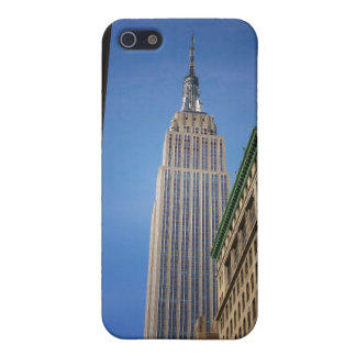 Empire State Building Against The Sky, NYC iPhone 5 Cases