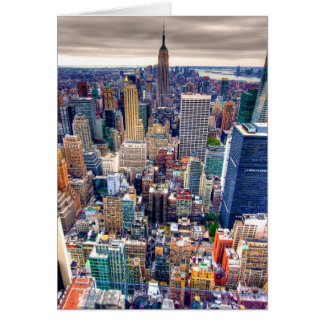 Empire State Building and Midtown Manhattan Card