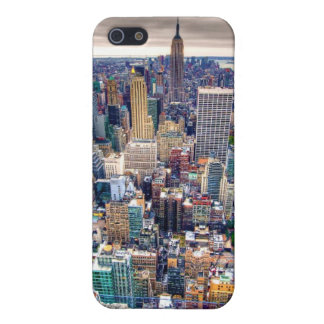 Empire State Building and Midtown Manhattan iPhone 5/5S Covers