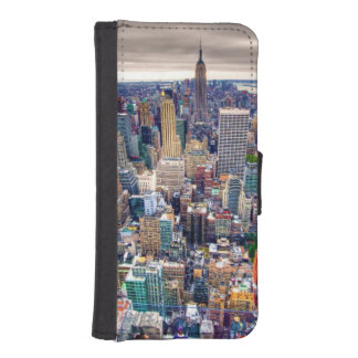 Empire State Building and Midtown Manhattan iPhone SE/5/5s Wallet Case