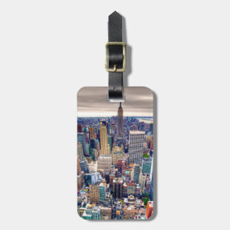 Empire State Building and Midtown Manhattan Luggage Tag