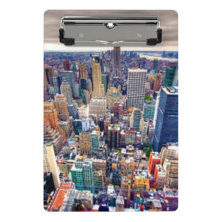 Empire State Building and Midtown Manhattan Mini Clipboard