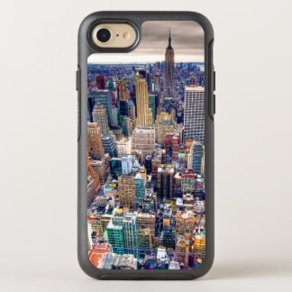 Empire State Building and Midtown Manhattan OtterBox Symmetry iPhone 7 Case