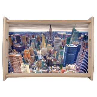 Empire State Building and Midtown Manhattan Serving Tray