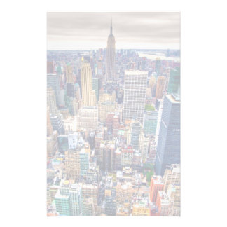 Empire State Building and Midtown Manhattan Custom Stationery