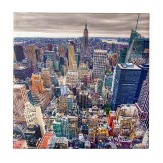 Empire State Building and Midtown Manhattan Tile