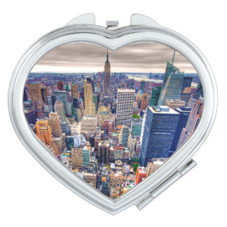 Empire State Building and Midtown Manhattan Vanity Mirrors