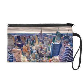 Empire State Building and Midtown Manhattan Wristlet Purse