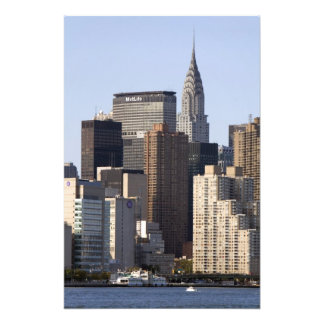 Empire State Building and New York City, New Photo Print