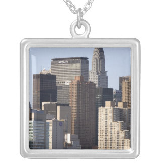 Empire State Building and New York City, New Silver Plated Necklace