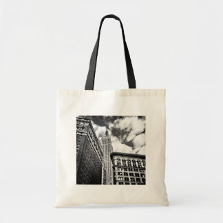Empire State Building and Skyscrapers Tote Bag