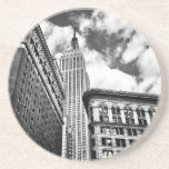 Empire State Building and Skyscrapers Beverage Coasters