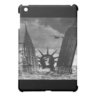 Empire State Building and Statue of Liberty iPad S iPad Mini Cases