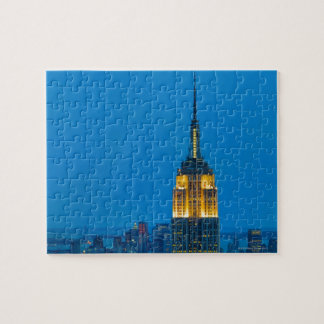Empire State Building at Sunset Jigsaw Puzzle