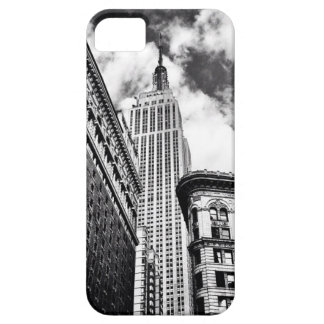 Empire State Building Black and White Case For The iPhone 5