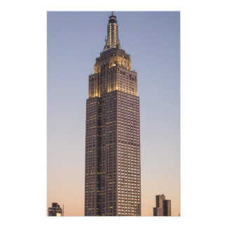 Empire State Building Customized Stationery