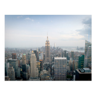 Empire State Building in New York City Postcard