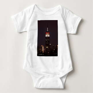 Empire State Building in Red & White, 30 Rock T Shirt