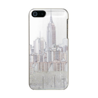 Empire State Building line drawing Incipio Feather® Shine iPhone 5 Case