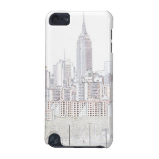 Empire State Building line drawing iPod Touch 5G Cover