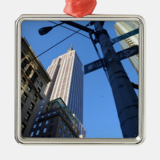 Empire State Building Manhattan Christmas Ornament