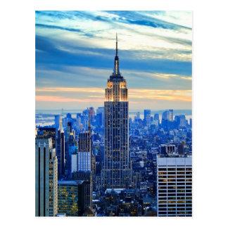 Empire State Building, Manhattan, New York City Postcard