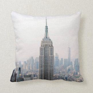 Empire State Building Manhattan New York Cushion