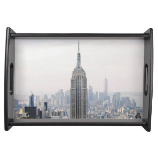 Empire State Building Manhattan New York Serving Tray