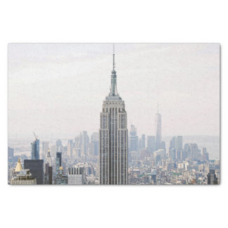 Empire State Building Manhattan New York Tissue Paper