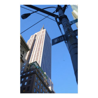Empire State Building Manhattan Stationery Paper
