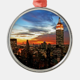 Empire State Building New York Christmas Ornament