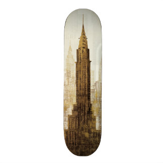 Empire State Building NYC 18.1 Cm Old School Skateboard Deck