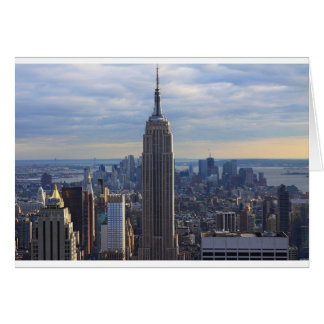 Empire State Building NYC, NY Card
