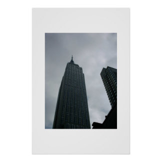 Empire State Building NYC Poster