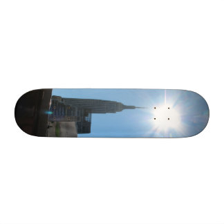 Empire State Building on a Skateboard