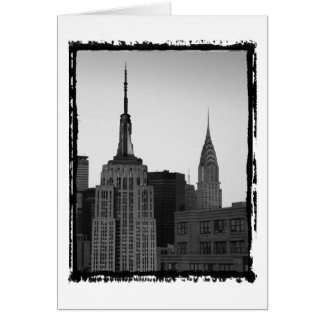 Empire State Building Photo Greeting Card