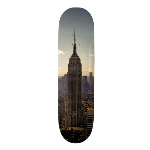 Empire State Building Photo in New York City Skate Decks