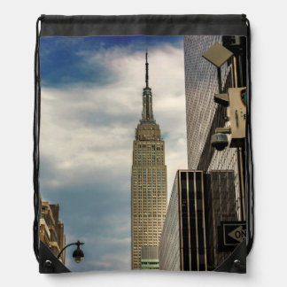 Empire State Building Cinch Bags