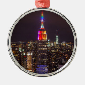 Empire State Building Pride Christmas Ornament