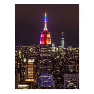 Empire State Building Pride Postcard
