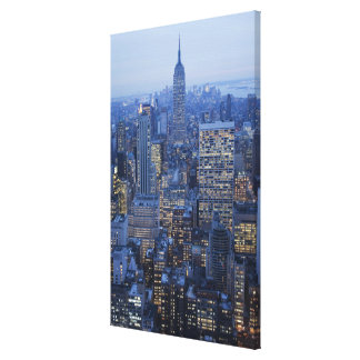 Empire State Building Stretched Canvas Prints