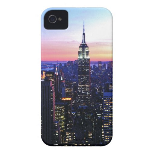 Empire State Building: Sunset iPhone 4 Case-Mate Cases
