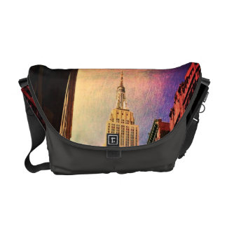 Empire State Building - Surreal - New York City Courier Bags
