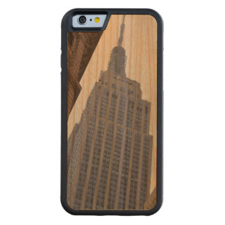 Empire State Building Wood iPhone 6 Case Cherry iPhone 6 Bumper Case