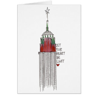Empire State Christmas Card