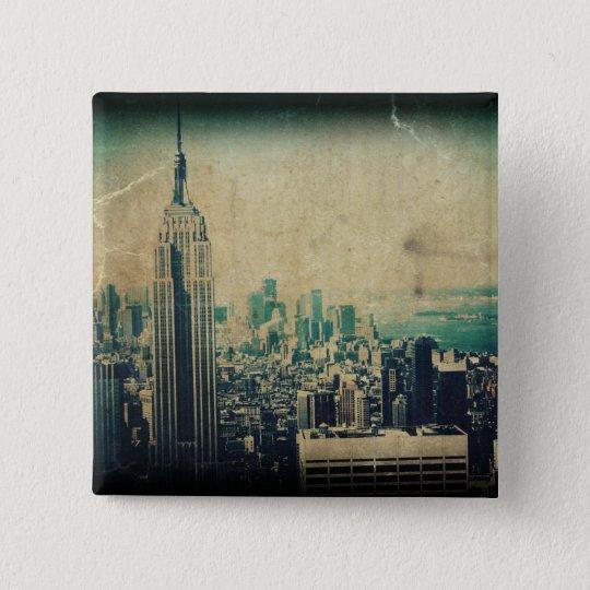 Empire State of Mind 15 Cm Square Badge